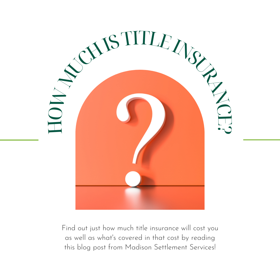 how much is title insurance?