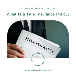 what is a title insurance policy