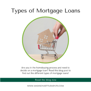 types of mortgage loans